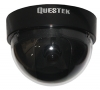 QTC-303i --QUESTEK-- Camera Dome 1/4 Sony CCD, 450 TV Lines